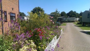 Gardens at Weir Holiday Park